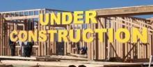 New single family homes under construction in Encinitas. Encinitas Enclave