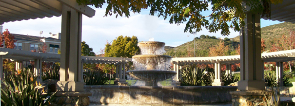 Picture of fountain in San Elijo Hills - New Homes in San Elijo Hills