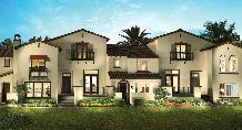 exterior picture of Voscana. New townhomes for sale in Carlsbad, La Costa, North San Diego County.