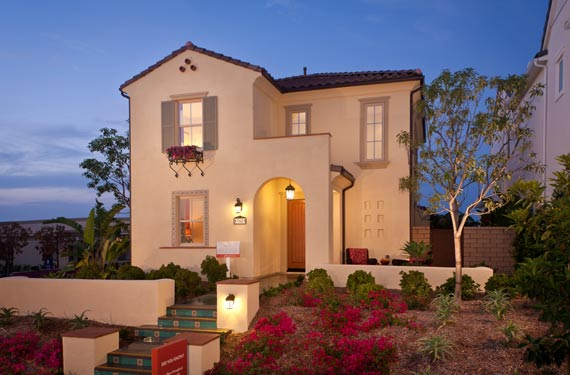 Picture of Hampton Lane new homes in pacific Highlands Ranch, San Diego Real Estate by Pardee Homes