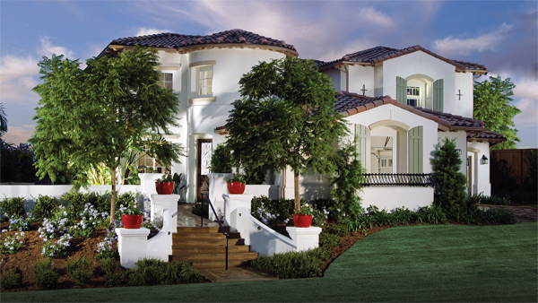Exterior of The Greens at Arrowood in Oceanside New Homes for sale in Oceanside