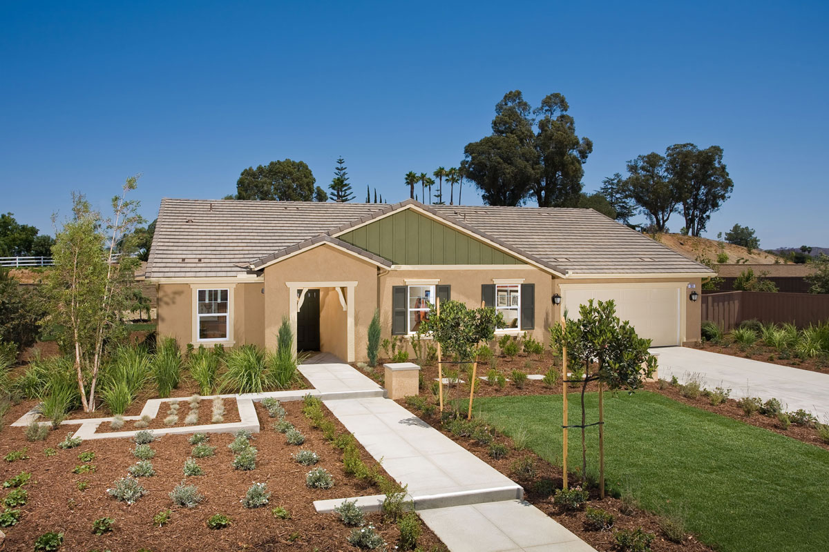 Oakmont at shady grove exterior north county new homes for Oakmont home builders