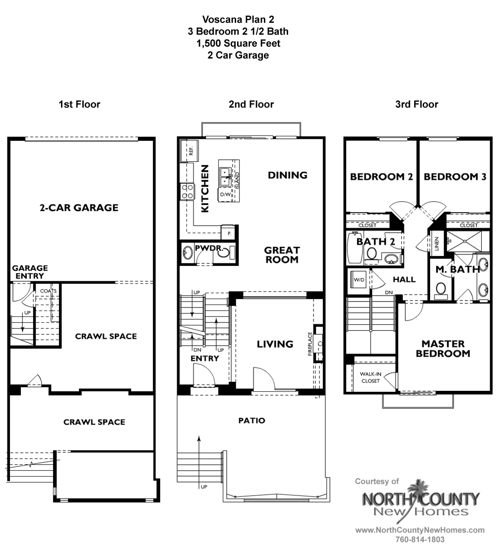 Voscana New Homes In Carlsbad Ca By Shea Homes Floor Plan 2