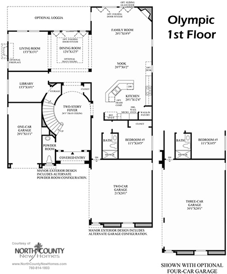 Toll Brothers Floor Plans California