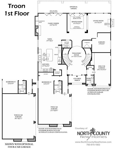 The Greens at Arrowood Floor Plans