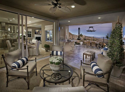 New 5 bedroom homes for sale at Bella Vista in San Elijo Hills.