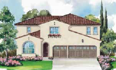 Plan 1 at Amarra - new homes for sale in Vista, CA new construction. homes and real estate for sale in Vista, CA