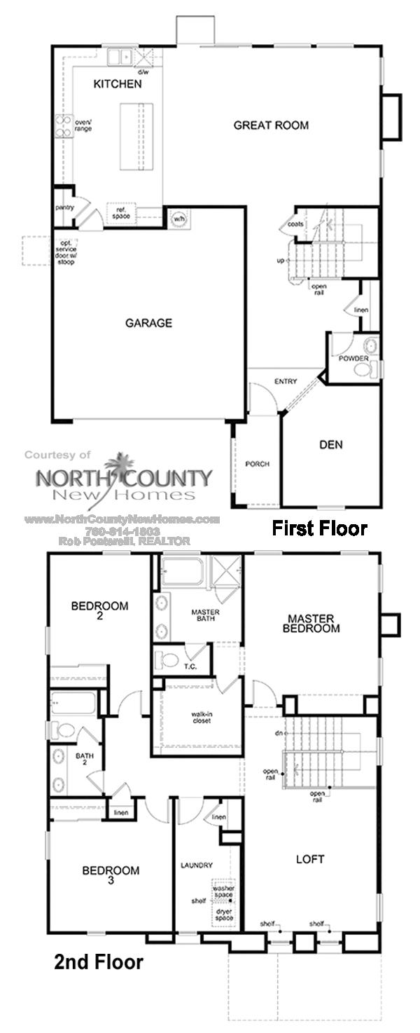 Haciendas Floor Plan 2 New Homes in San Marcos 35 Bedrooms – Hacienda Homes Floor Plans