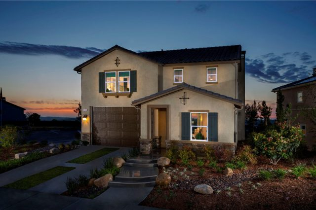 New homes for sale in San Marcos at Haciendas at Rancho Santalina