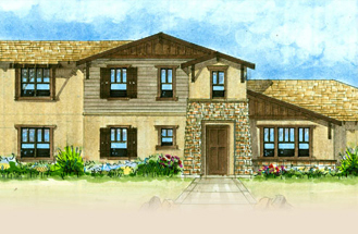 New homes in Valley Center - Master Collection at Woods Valley