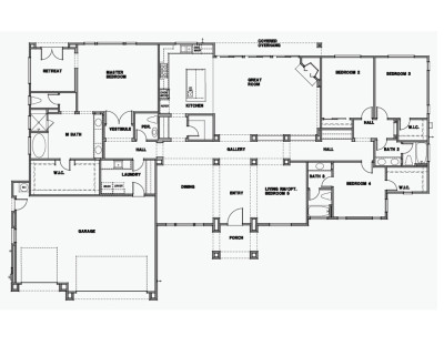 3,324sq.ft, 4 Bedroom(Opt.5th), 3.5 Bath, Great Room, 3 Car Garage.