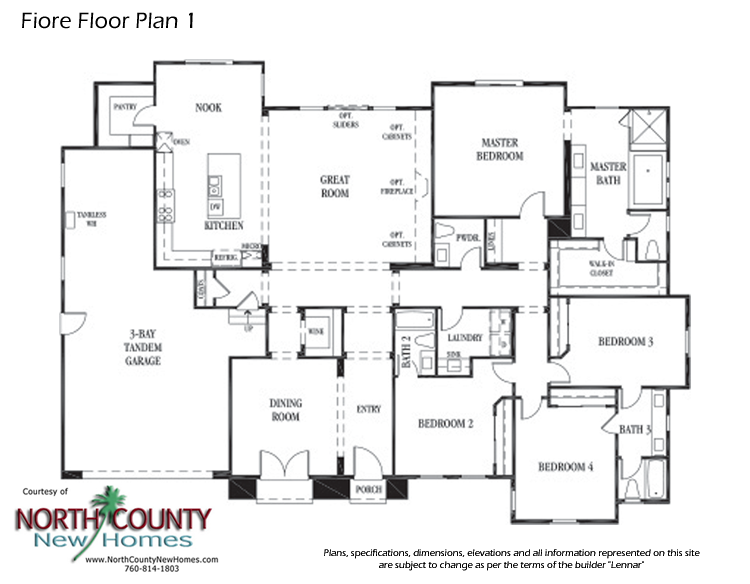 Lennar Floor Plans 3561 Freedom New Home Plan In Mtn Vail