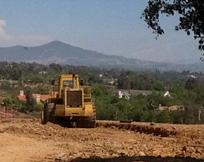 Construction of new homes in Carlsbad at Blackstone Ranch