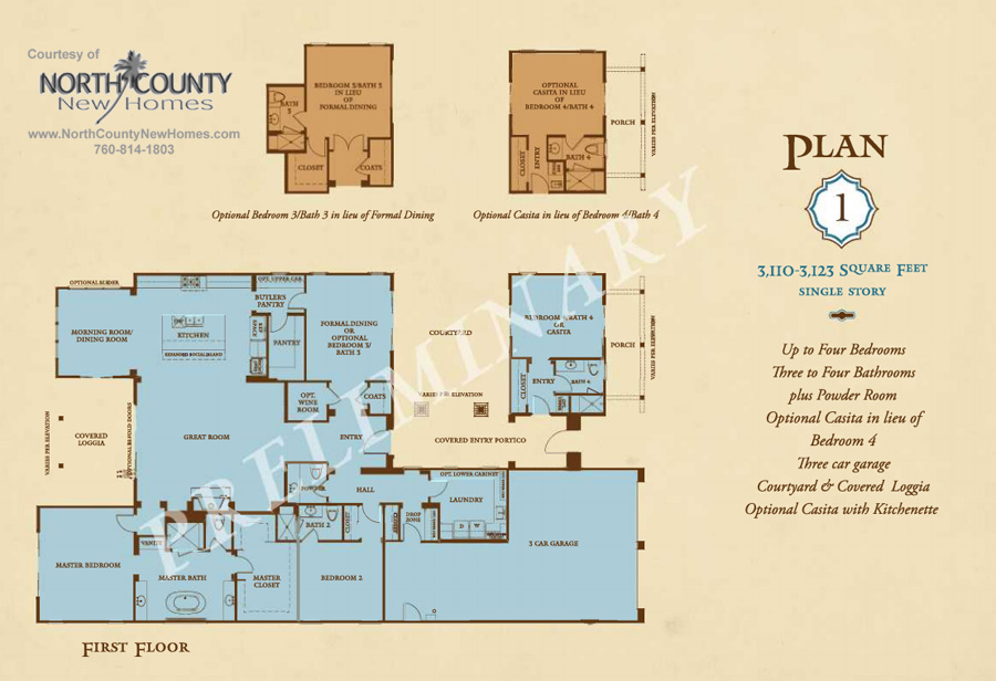 New crest court new homes in carlsbad Edit floor plans online