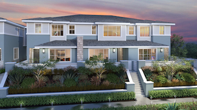 Level Fifteen new townhomes in Escondido
