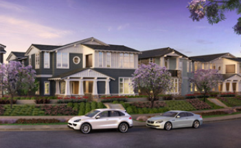 New condominiums for sale in Carlsbad at Summerhouse . Coastal homes. new construction homes
