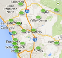 San Diego Real Estate Map Search 202