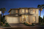 New homes in Encinitas at 1 Channel Island. Single and two strory homes