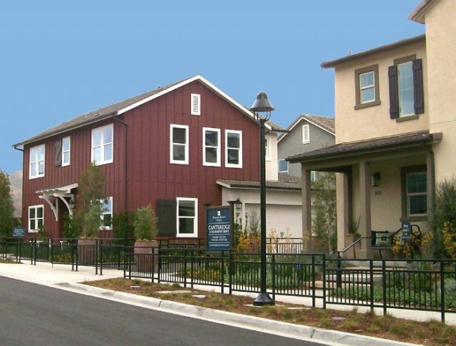 New homes in Harmony Grove Village at Canteridge