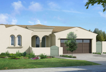 The Enclave at Buena Vista Floor Plan 1A New Homes in Carlsbad