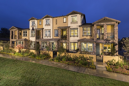 New Homes and townhomes for sale in San Marcos, CA at Caprice