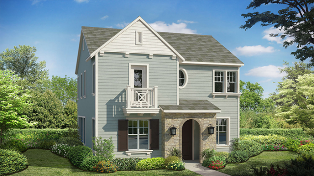 New homes in Carmel Valley - San Diego at IVY by Taylor Morrison. Picture of new construction home model Plan 2
