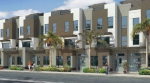 New townhomes in downtown Carlsbad, CA. New construction homes