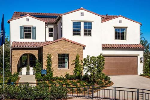 Picture of Castello. New homes iN North County San Diego. New homes for sale.