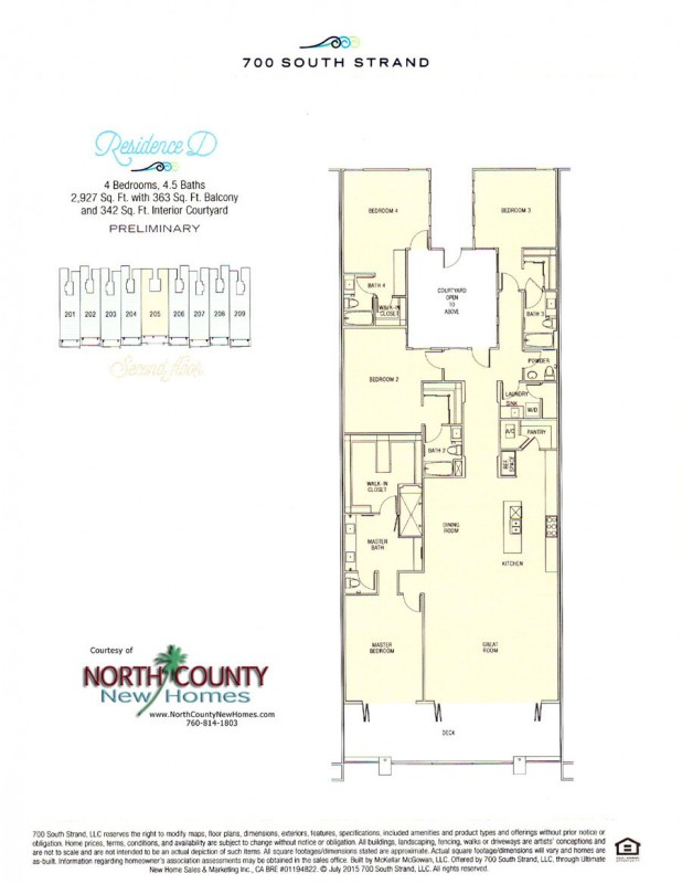 New waterfront condos in oceanside 700 south strand for House plans with elevators waterfront