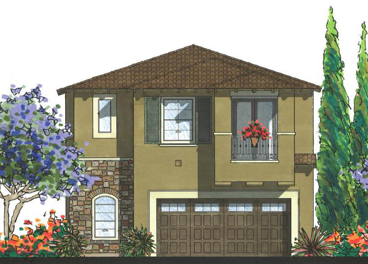 Altura at Pacific Ridge. New homes in Oceanside. Single family homes.