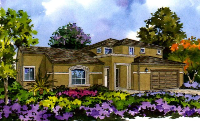 New homes in Oceanside at Thunderbird Estate Homes. New construction homes