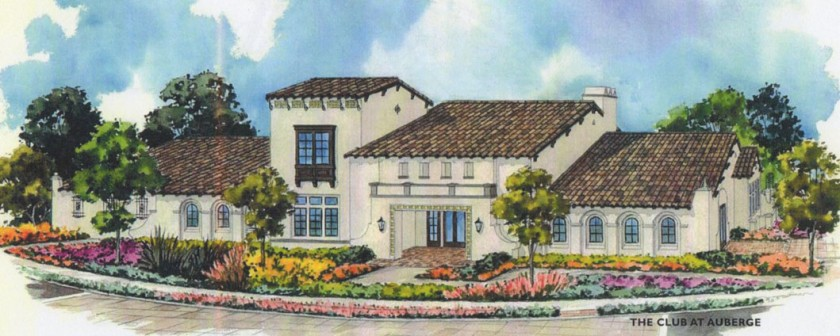 New homes in Del Sur. 55+ Community. Auberge at Del Sur. The Club. Picture of recreation center.
