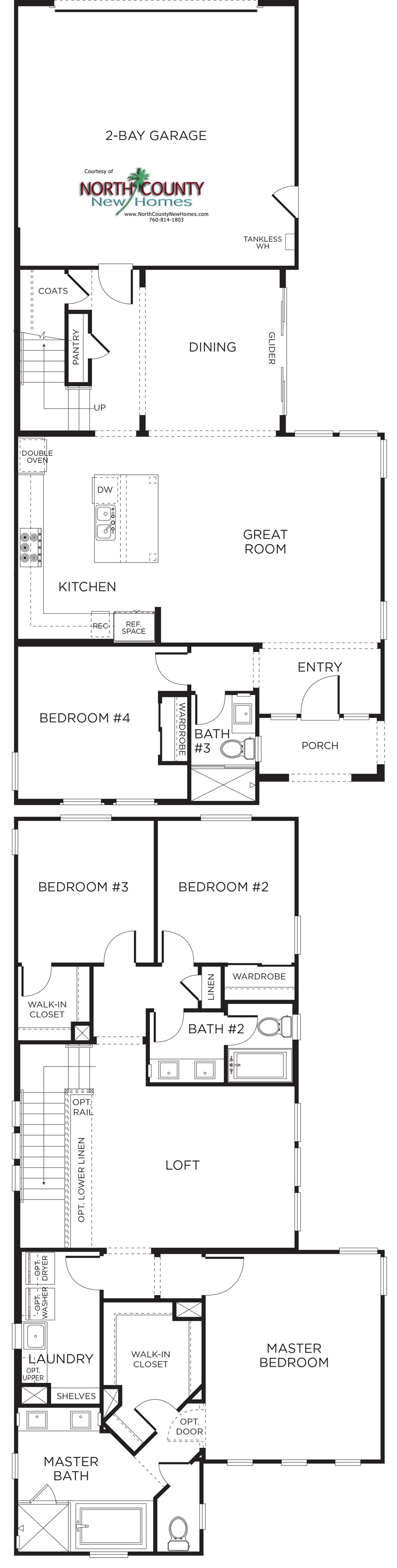 Canterra floor plans new pacific highlands ranch homes for Pacific image home designs ltd