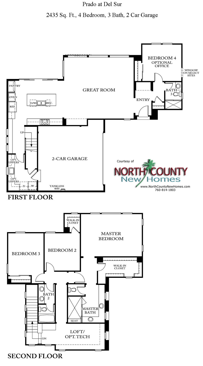 Prado at del sur new homes in del sur north county new homes New model house plan