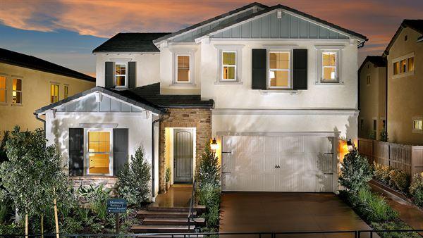 New homes in Del Sur. Preston at Del Sur new single family homes