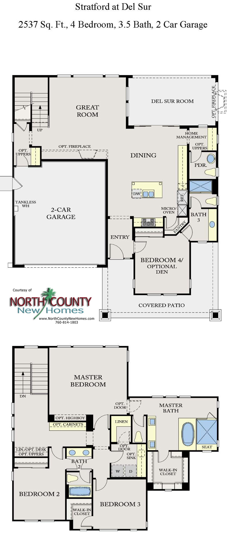 Stratford at Del Sur Floor Plans New Homes in San Diego - North ... - ^