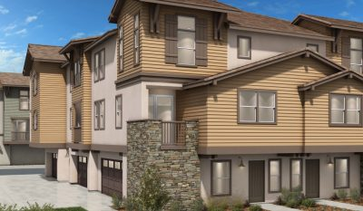 San Marcos new homes and townhomes. Mission Terrace - Mission Villas. Floor Plans