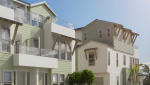 Beachwalk at Roosevelt. New townhomes in Carlsbad. Carlsbad, CA new homes.