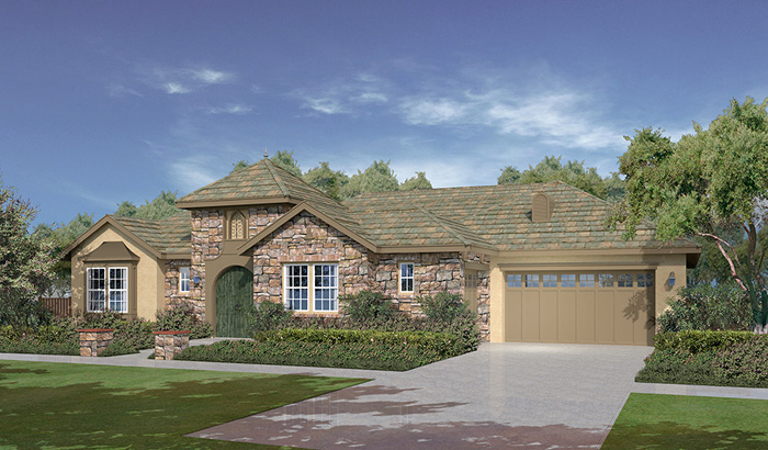 The summit at san elijo hills plan 1d north county new homes for Summit county home builders