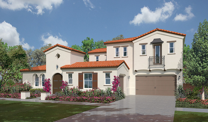 The summit at san elijo hills plan 2a north county new homes for Summit county home builders