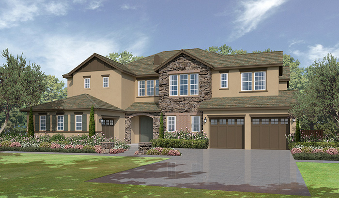 The summit at san elijo hills plan 5d north county new homes for Summit county home builders