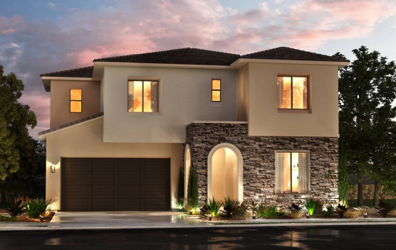 New homes at Portofino in Carmel Valley and Pacific Highlands Ranch San Diego. Single family homes. New construction. 2 story homes.
