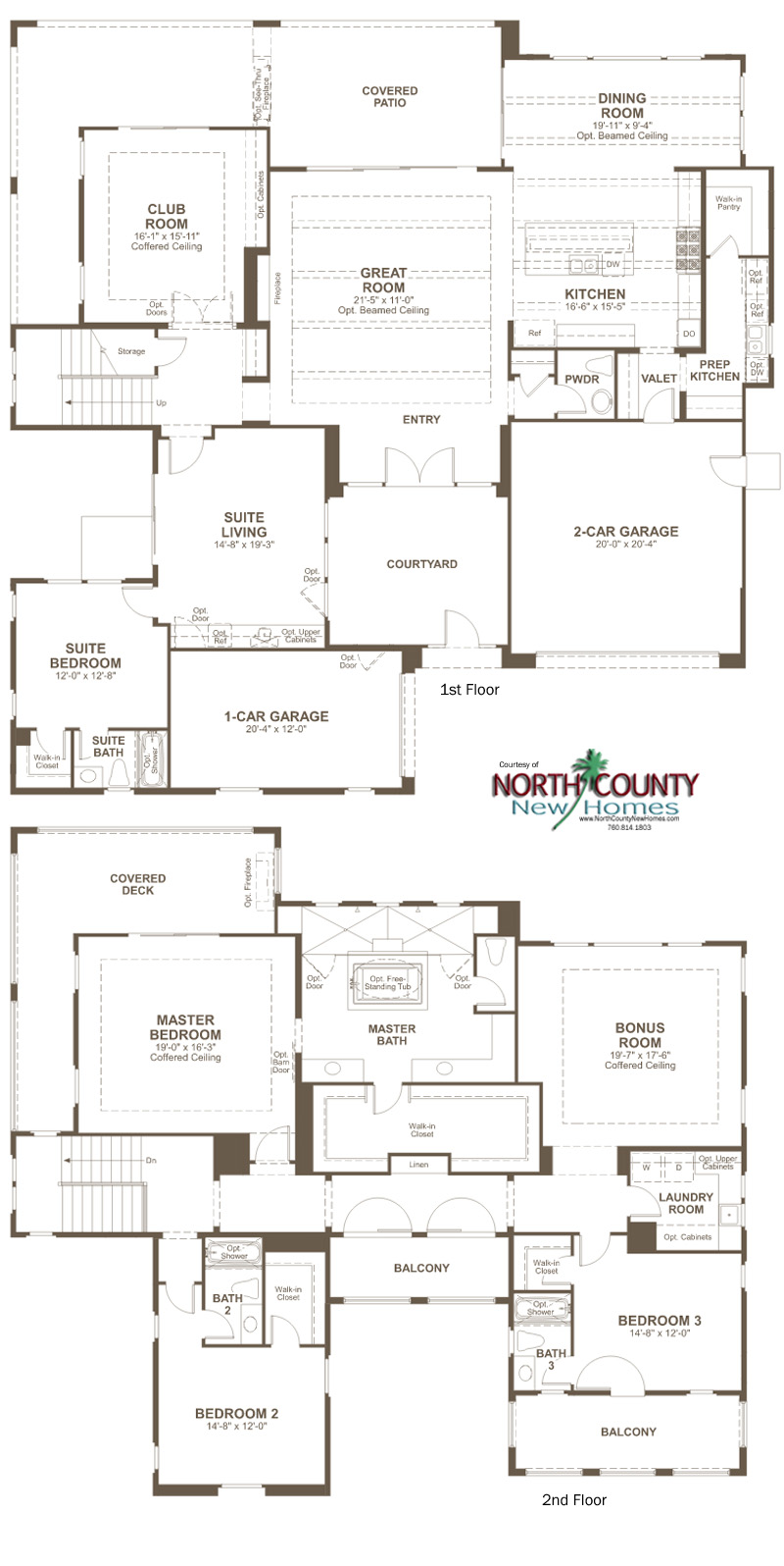 The summit at san elijo hills floor plans north county for Summit homes floor plans