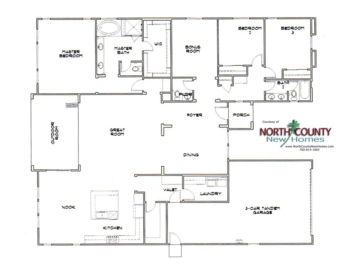 Heritage collection at canyon grove floor plans north for Home plan collection