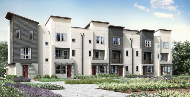 Citron, new townhomes in Escondido, CA. New construction homes