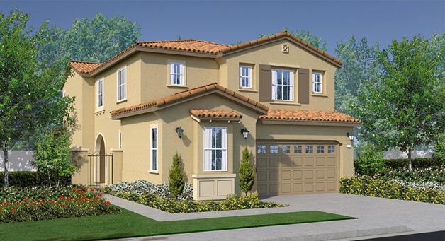 Oakmont New homes in Fallbrook at Horse Creek Ridge. New construction single family homes.
