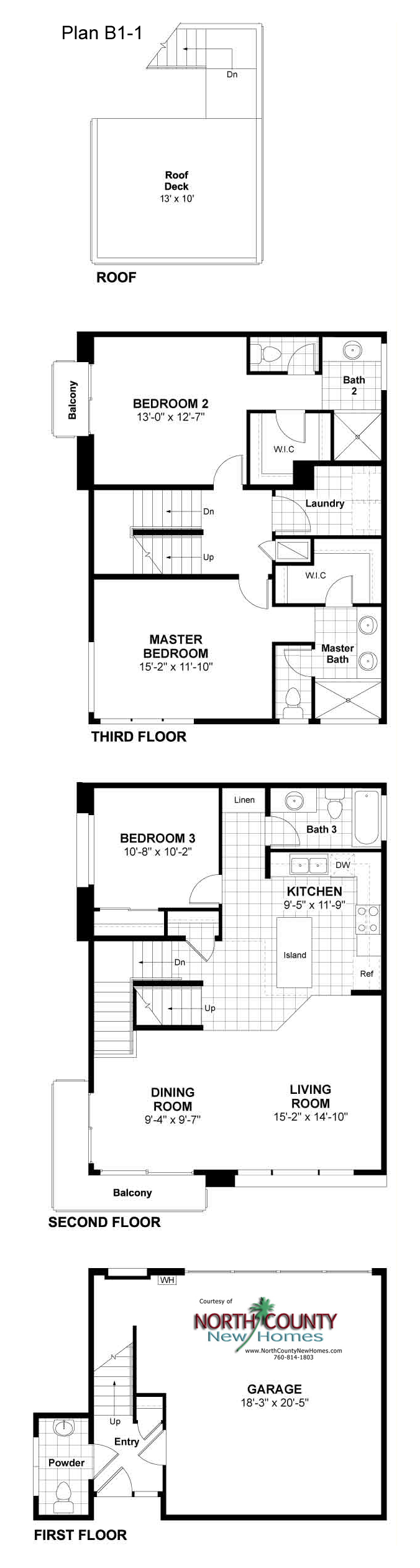 15 new townhomes in coastal oceanside new construction for Oceanside house plans