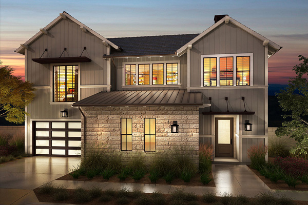 Almeria new homes in San Diego and Pacific Highlands Ranch. New 2 story single familiy homes in Carmel Valley area. New construction homes.