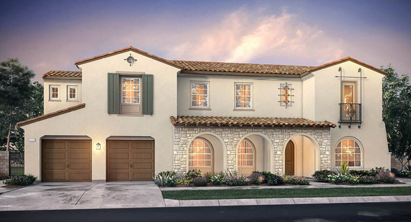 New Homes in San Marcos and San Elijo Hills - Crown point at the Estates and the Summit. New construction homes for sale in San Diego North County. Elevation