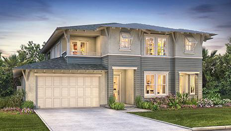 Lanai II features 10 new single family homes in Carlsbad, CA. New construction homes in North County San Diego. One and two story homes for sale.